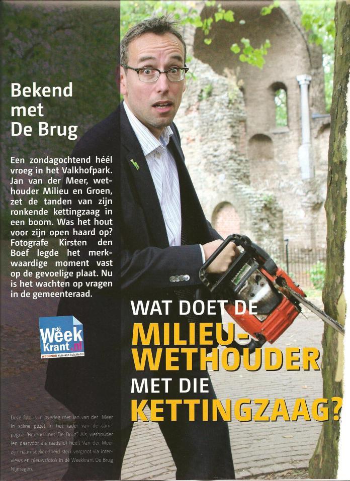 Jan van der Meer Kettingzaag