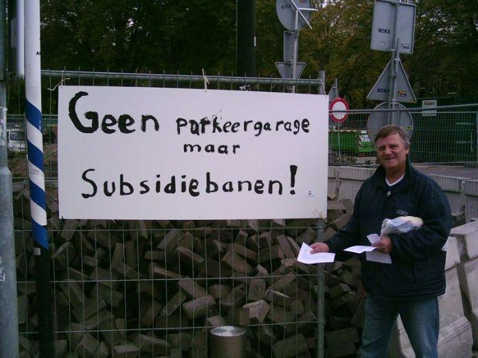 Geen parkeergarage maar subsidiebanen 006