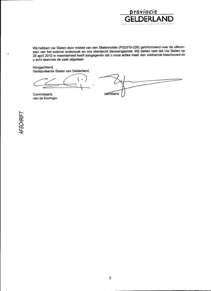 Declaraties GS 2008 001