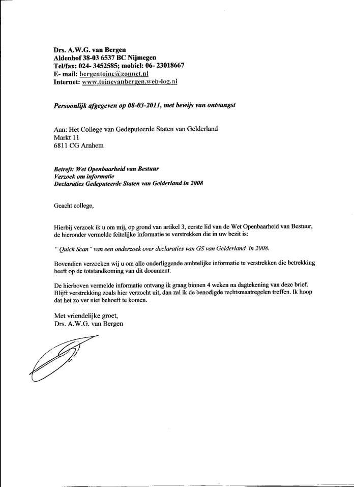 Declaraties GS 2008 002