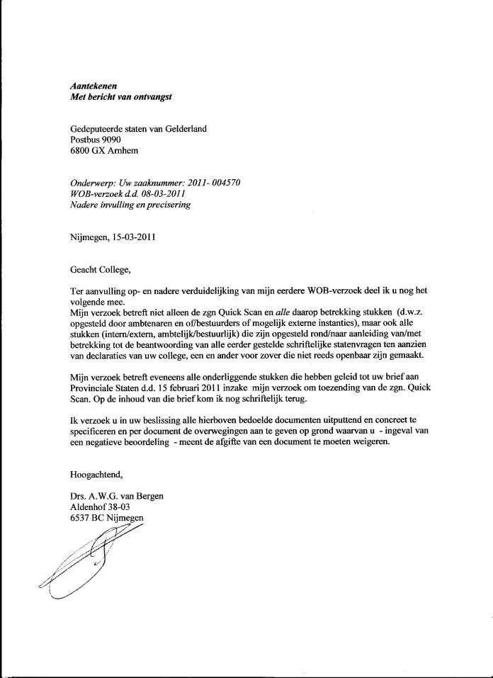 Declaraties GS 2008 003
