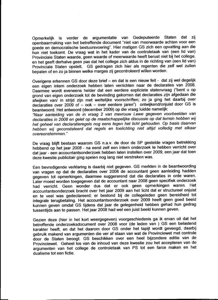 Declaraties GS 2008 005
