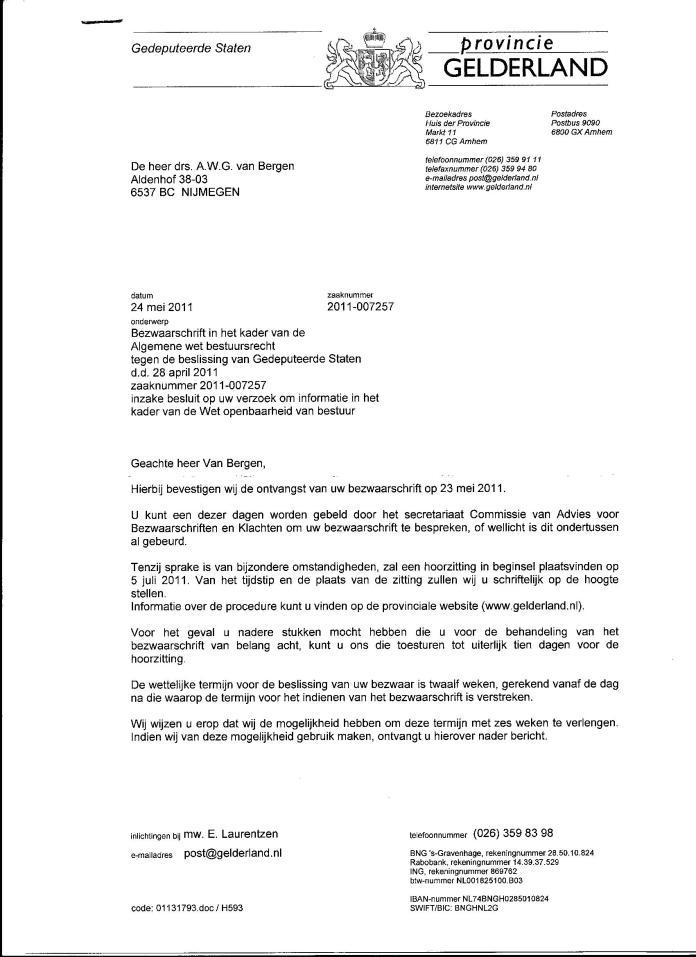 Declaraties GS 2008 010